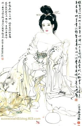 苏维贤古代美人画集画选 - 苏维贤 - 苏维贤的博客