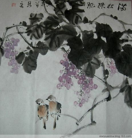 2008岁末花鸟画小品1(原创) - 云中老马 - 云中老马