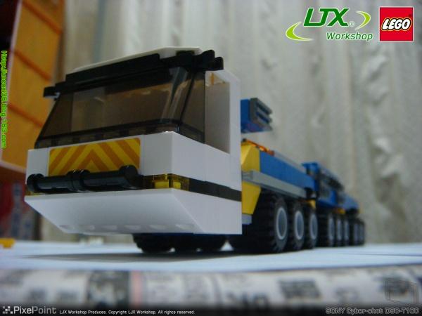LEGO LIEBHERR LG 1750 Felbermayr 727号车 - 看更阿伯熙叔 - 看更房