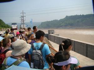Hydro Dam on Jialing
