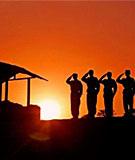 《军歌嘹亮》当兵时写的诗/激情燃烧的岁月[我的军旅生涯] - 牧笛 - 牧笛 精緻圖文藝術沙龍