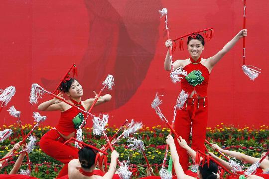 奥运----祥云火炬到广安 - 绝地再生 - ◢▂ 絕哋侢眚 ▂◣