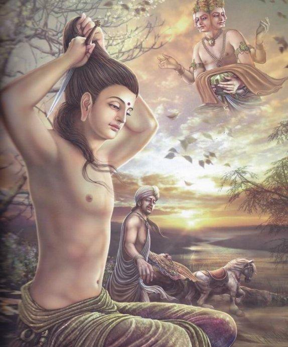 佛陀伟大的一生(图像)