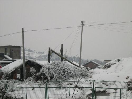 亲历雪灾现场四:断电10天的郴州 - 杨克 - 杨克博客