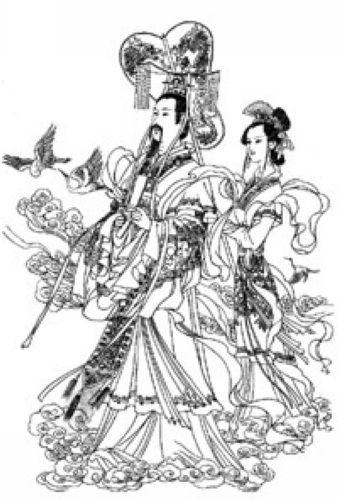道教神仙画 - 莫家楼人王学仁 - 莫家楼人的博客