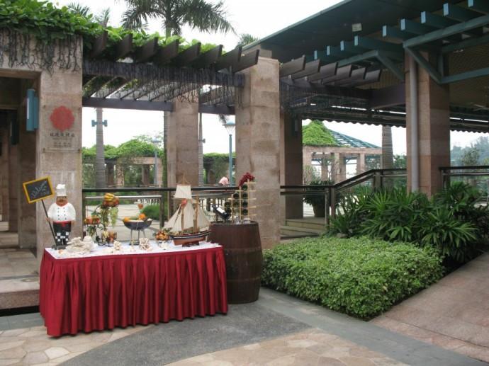 霍英东建在广东南沙的酒店 - 郭海臣 - 郭海臣—用脚写作
