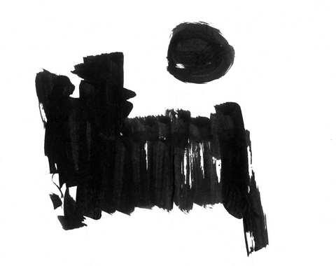 """海子为""""太阳""""诗作所绘插图1"""