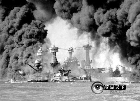 1941年12月7日,日本偷袭珍珠港