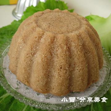 【转载】红糖米发糕 - 荷塘秀色 - 茶之韵