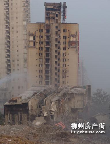 柳州风情港最后一爆,广西爆破最高单体22层… - 冷风 - 冷风 的博客