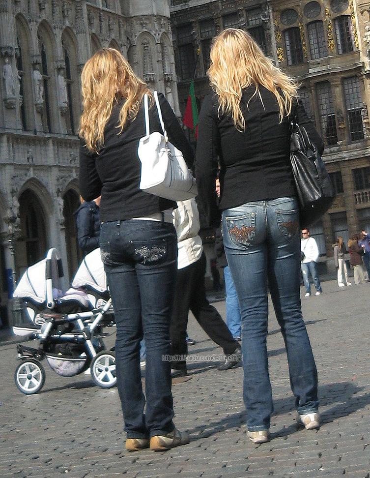 牛仔裤西方美女 - 源源 - djun.007 的博客