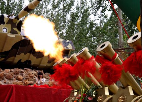 礼炮发射瞬间 - xt5999995 - 赵文河的博客