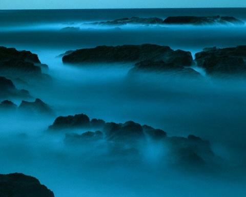 [美图] 大自然的神奇色彩(1) 令人沉醉的蓝色(上) - 路人@行者 - 路人@行者