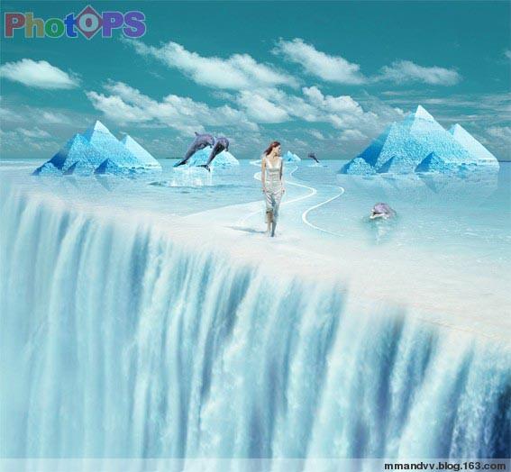 引用 利用素材合成冰河美人 - 了凡 - 了凡的博客