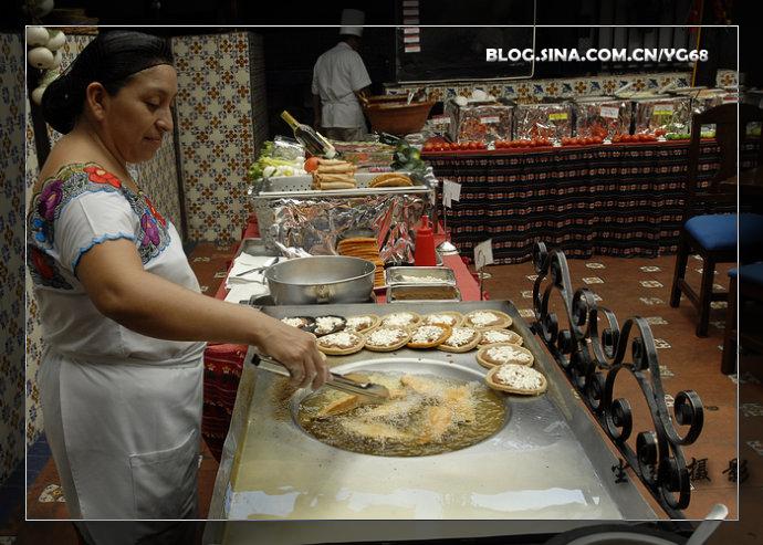 """墨西哥坎昆美食""""塔克斯"""" - Y哥。尘缘 - 心的漂泊-Y哥37国行"""