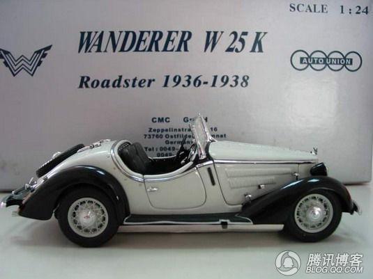 见证奥迪发展历史的车模高清图片