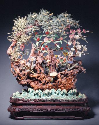 镶金缀玉的古代盆景艺术 - 学海无涯