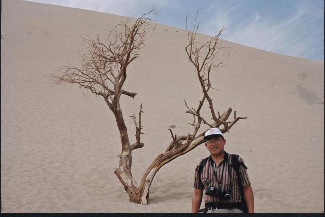 新疆之旅之六-鸣沙山和月牙泉 - qdgcq - 青岛从容
