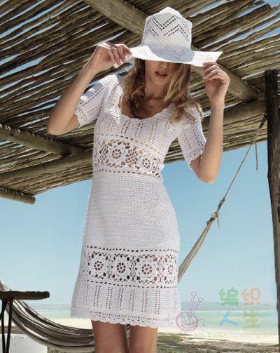 漂亮的白色长裙 - 浮萍 - 浮萍的博客