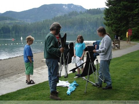 到西雅图观光(17):迷人的Lake Easton State Park - 阳光月光 - 阳光月光