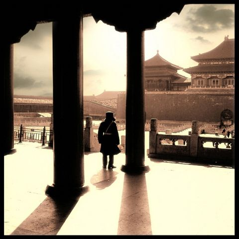 美国摄影家的中国之旅 - 玫瑰小手 - 陶然亭