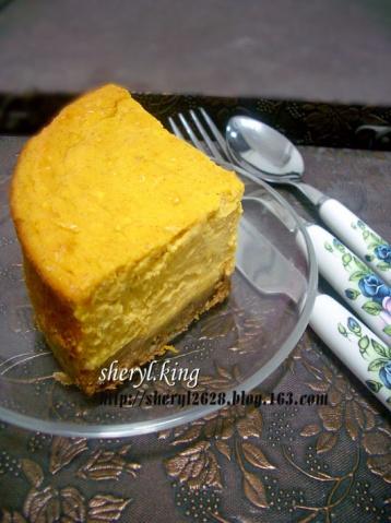 烘焙手札*南瓜芝士蛋糕 - 出尘素影 - 甜心煮饭婆