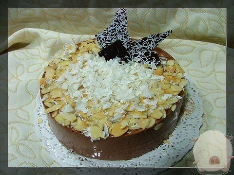 超级浓香的巧克力慕司蛋糕 - 快乐的猪 - 一个小女人的幸福生活