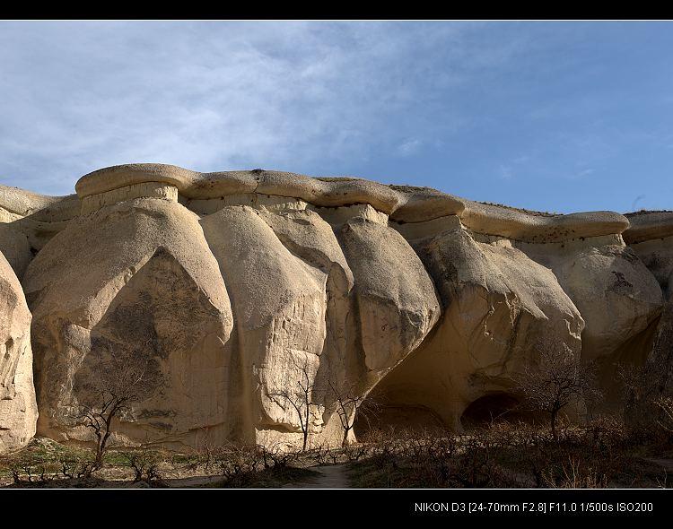 卡帕多奇亚的神奇石头 - 海阔山遥 - .