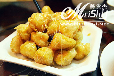 拔丝香蕉www.meishij.com