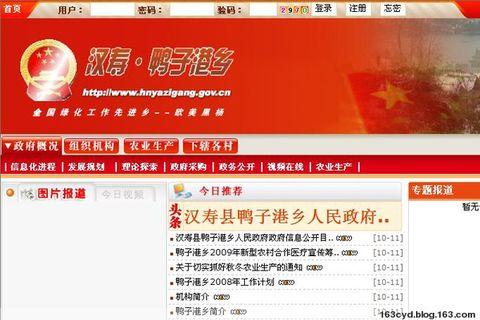 乡村政府网站:讥讽无聊,援助可赞 - 陈永东 - 陈永东的博客