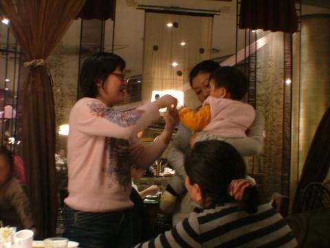 2009.2.14我周岁啦!!!(晚宴篇) - 宸欢 - 张宸欢的网家家