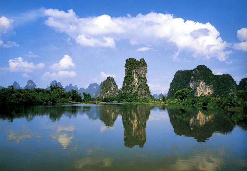 桂林山水甲天下 - 大漠孤烟 - 李安祥的博客