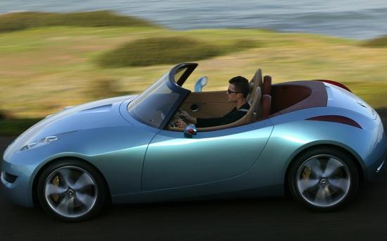 雷诺全新敞篷跑车 有望2009年问世[图] - 听雪 - 听雪。。。的声音