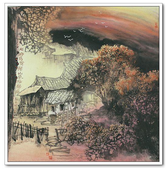 曾 刚 画 树(组图转帖) - 陶农 - 元 大 志 长