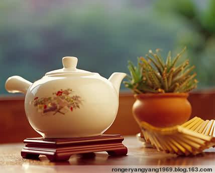 (原创) 喝 茶 - 绒儿 - 绒儿博客