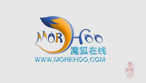 m字母抽象变形logo