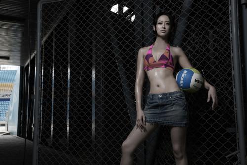 体验沙滩排球的魅力 - 戴菲菲 - 菲比寻常—戴菲菲