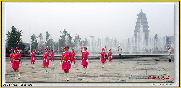 [原]旅游摄影:丝绸之路《十三朝古都西安1》 - 巴陵散人 - 巴陵散人影室
