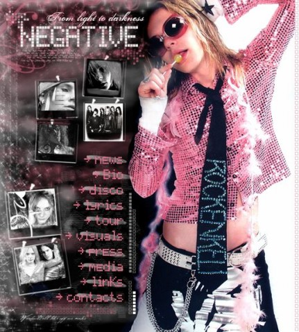 Negative(芬兰乐队)——几个MV~~(超喜欢小美人~~呵呵呵) - 血翼天使 - 天使聚集地