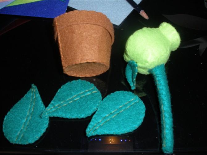 不织布植物大战僵尸系列