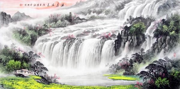 引用  【王玥珺】赏徐月明书画笔墨 鉴神州气派中国神韵 - 柳逸 - 柳逸