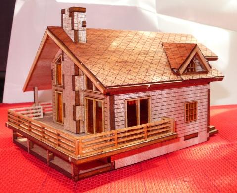 某l的(无)创意手工-小房子