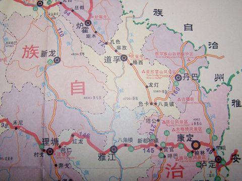 扎坝的文化地图 - 右岸左人 - 烟雨行囊:右岸左人的部落客
