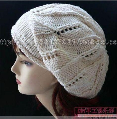 叶子帽编织方法 - 冰凌 - 展现自我  博采众长