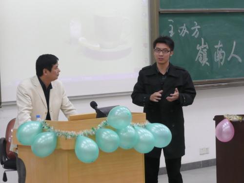 在大学城中山大学做讲座 - 杨克 - 杨克博客