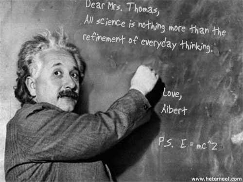 爱因斯坦写汉字 - 李二嫂的猪 - 翱翔的板儿砖