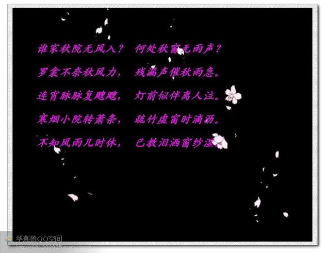 秋窗风雨夕 - 苍狼 - zhang.meng.long 的博客