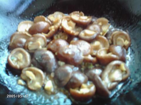 雪夫人透明厨房之九—香菇、虾仁扒油菜 - 雪夫人 - 雪夫人的家园