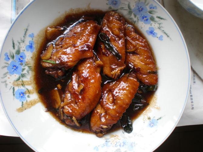 美女私房菜1  可乐鸡翅 - 字痴小尧 - 字痴小尧