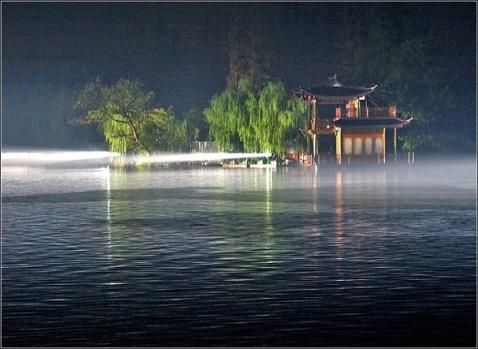 【原创图文】雨中观赏《印象西湖》 - 谷风 - 谷风图文